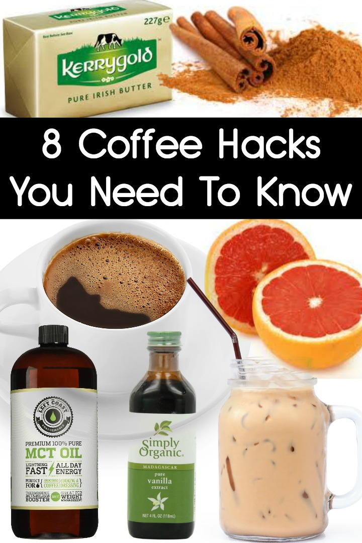 8 Coffee Hacks You Need To Know ~