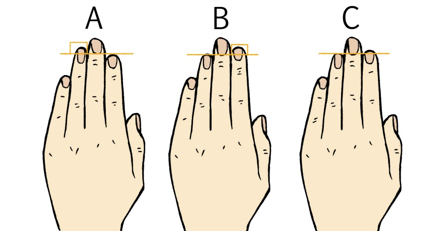 What The Length of Your Fingers Says About Your Personality