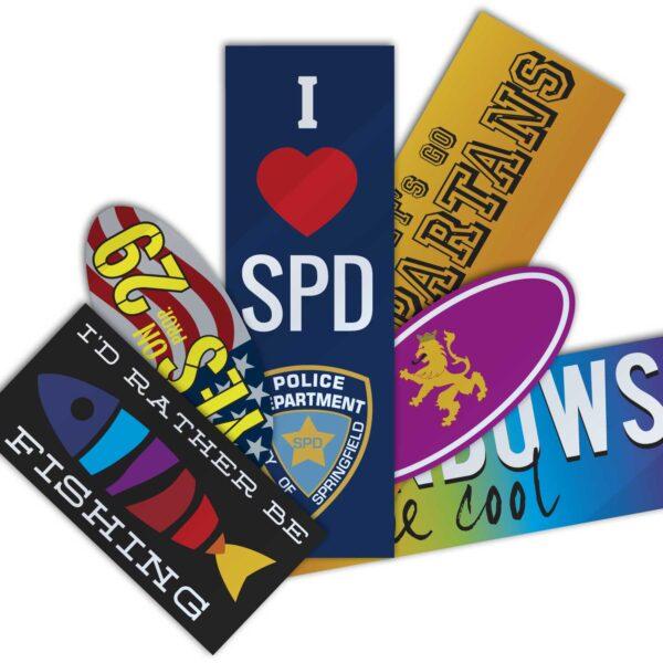 Bumper Stickers, Custom Bumper Stickers, Stickers, Custom Stickers, Full Color Stickers, Custom Full Color Stickers, Custom Full Color Bumper Stickers