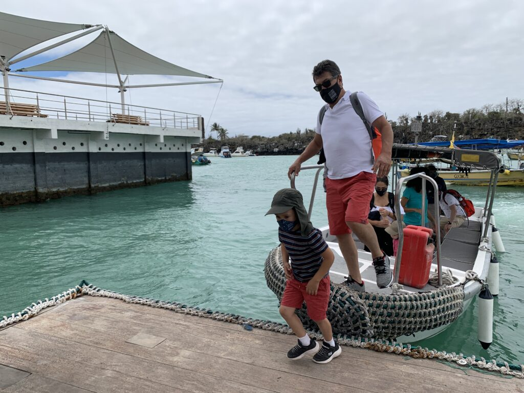 Economy reactivation in galapagos islands