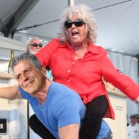 Baking Biscuits with Paula Deen