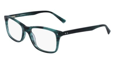 Marchon NYC M-8500 Color 320 Teal Horn Size 53-18-140