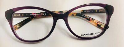 Marchon NYC M-5005 Color 513 Purple Size 53-16-135