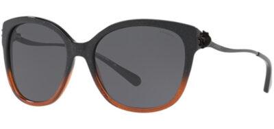 Coach HC8218 Color 547587 Black Amber Glitter Gradient Size 57-17-135