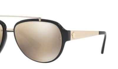 Versace Sunglasses OVE4327 Color Gold Black 1/54 Size 57-16-140