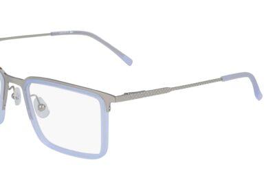 Lacoste Eyeglasses L2263 Color 045 Silver Size 54-19-145