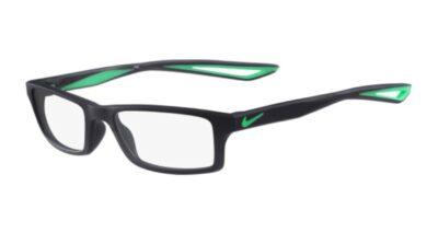 Nike Eyeglasses NK4678 Color 403 Midnight Navy/Green Size 49-16-130