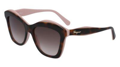 Salvatore Ferragamo Sunglasses SF941S Color 219 Havana/Rose Size 54-17-140