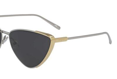 Salvatore Ferragamo Sunglasses SF206S Color 050 Palladium Gold Size 63-16-145