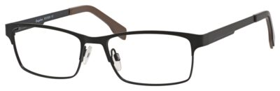 Esquiere Eyeglasses EQ1526 Color Satin Black Size 54-17-145