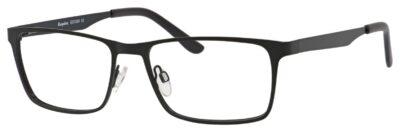 Esquiere Eyeglasses EQ1524 Color Satin Black Size 55-17-145