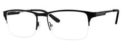 Claiborne 242 Color 0003 Matte Black Size 54-17-145