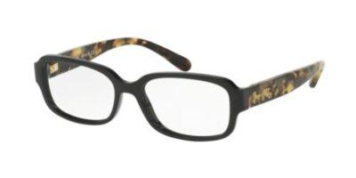 Coach HC6105 Color 5449 Black/Dark Vintage Tortoise Size 54-15-140