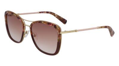 Longchamp Sunglasses LO639SL Color 606 Burgundy/Rose Size 56-17-140