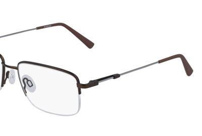 Flexon Eyeglasses H6003 Color 210 Brown Size 54-18-140