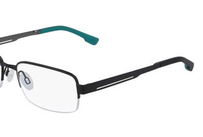 Flexon Eyeglasses FLE 1047 Color 001 Black Size 54-18-140