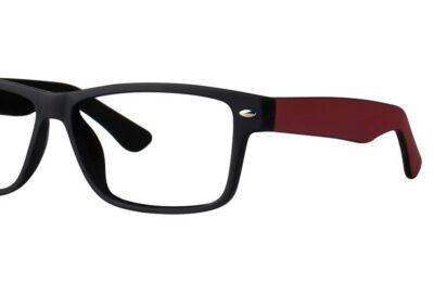 Modern Eyeglasses Observe Color Black/Brick Matte Size 55-13-145