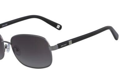 Nine West Sunglasses NW123S Color 035 Shiny Light Gunmetal Size 57-16-135