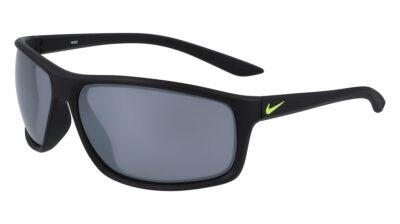 Nike Adrenaline Sunglasses Color 007 MT Black/Volt/Grey W/Silver FL Size 66-15-135