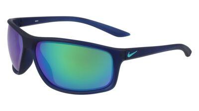 Nike Adrenaline Sunglasses Color 433 MT MDNT NVY/CLR JD/GRN W GRN M Size 66-15-135