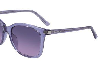 Calvin Klein CK19527S Color 550 Crystal Lilac Size 54-19-140