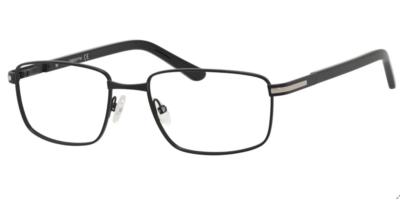 Claiborne Eyeglasses CB241 Color 0003 Matte Black Size 55-18-145
