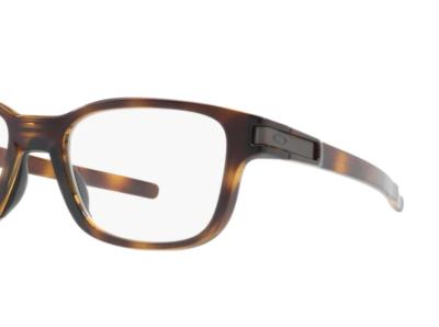 Oakley Eyeglasses OX8114-0252 Latch SS Color Polished Brown Tortoise Size 52-17-131