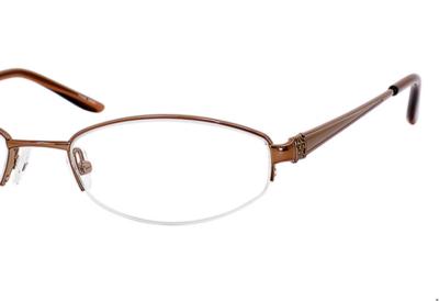 Valerie Spencer Eyeglasses 9211 Color Brown Size 52-18-135