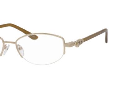 Valerie Spencer Eyeglasses 421 Color Gold Size 52-16-135