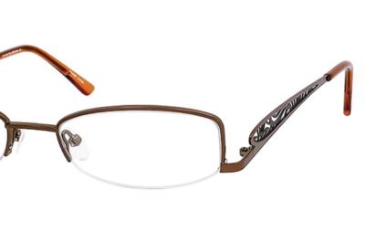Dale Jr. Eyeglasses DJ-6706 Color Brown Size 51-18-135