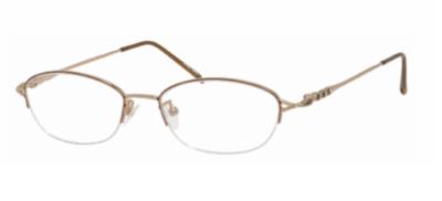 Valerie Spencer Eyeglasses 435 Color Gold Brown Size 51-17-140