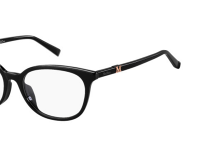 MaxMara Eyeglasses MM1425/F Color 807 Black Size 53-17-145