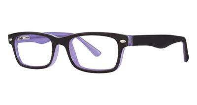 Modern Eyeglasses Remote Color Black/Purple Size 48-18-135
