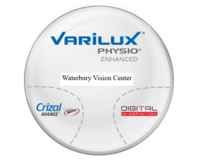 Progressive Varilux Physio Enhanced (Select your type of lenses on color on the Drop down)