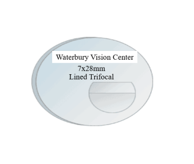 Lined Trifocal (Select your type of lenses on color on the Drop down)