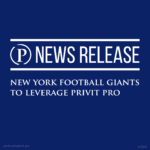 PRIVIT provides the New York Football Giants with its secure platform to digitize player intake information.