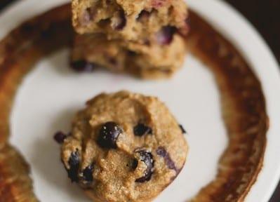 Protein Powder Blueberry Muffins