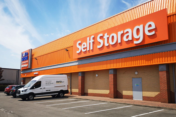 Self storage business