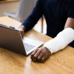 An injured man filing a workers compensation claim