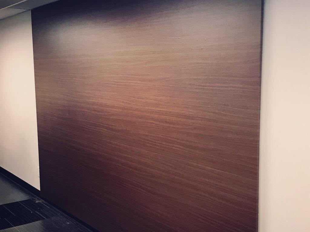 Recouvrement de mur en vinyle texture bois