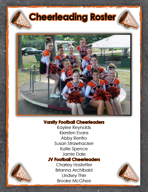 CHEERLEADING PAGE ONLY