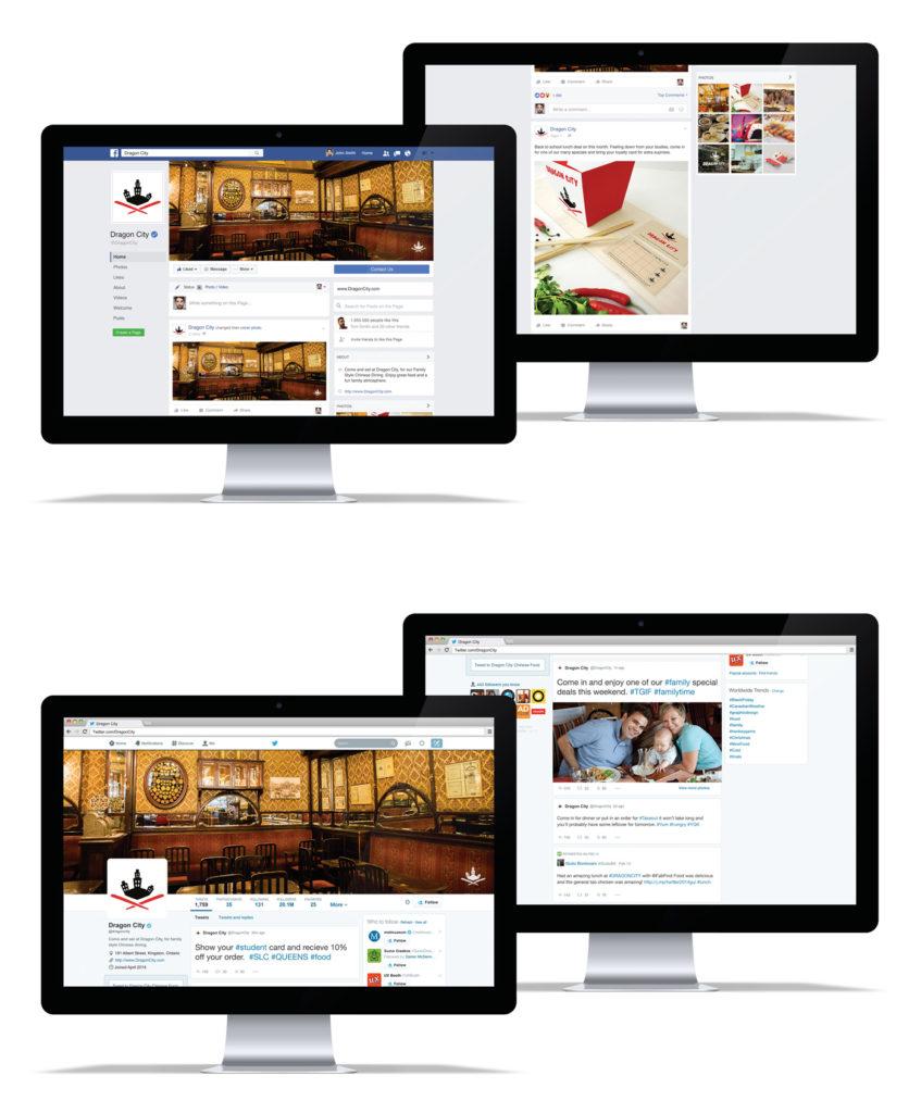 Dragon City Social Media Sites