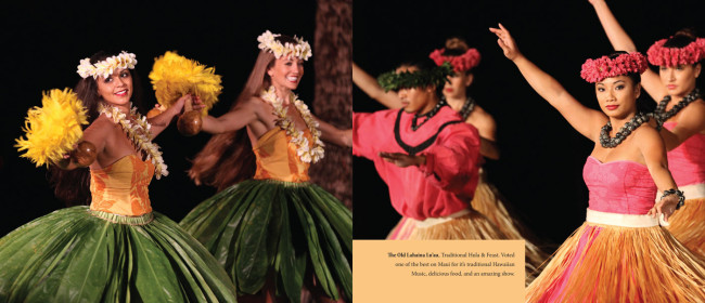 Flat spread of Hula Dancers in action.