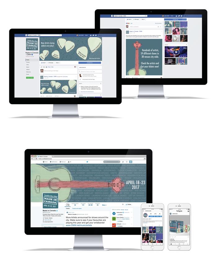 Social Media across Web and Mobile Platforms