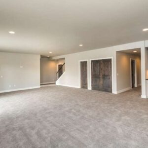 clean basement