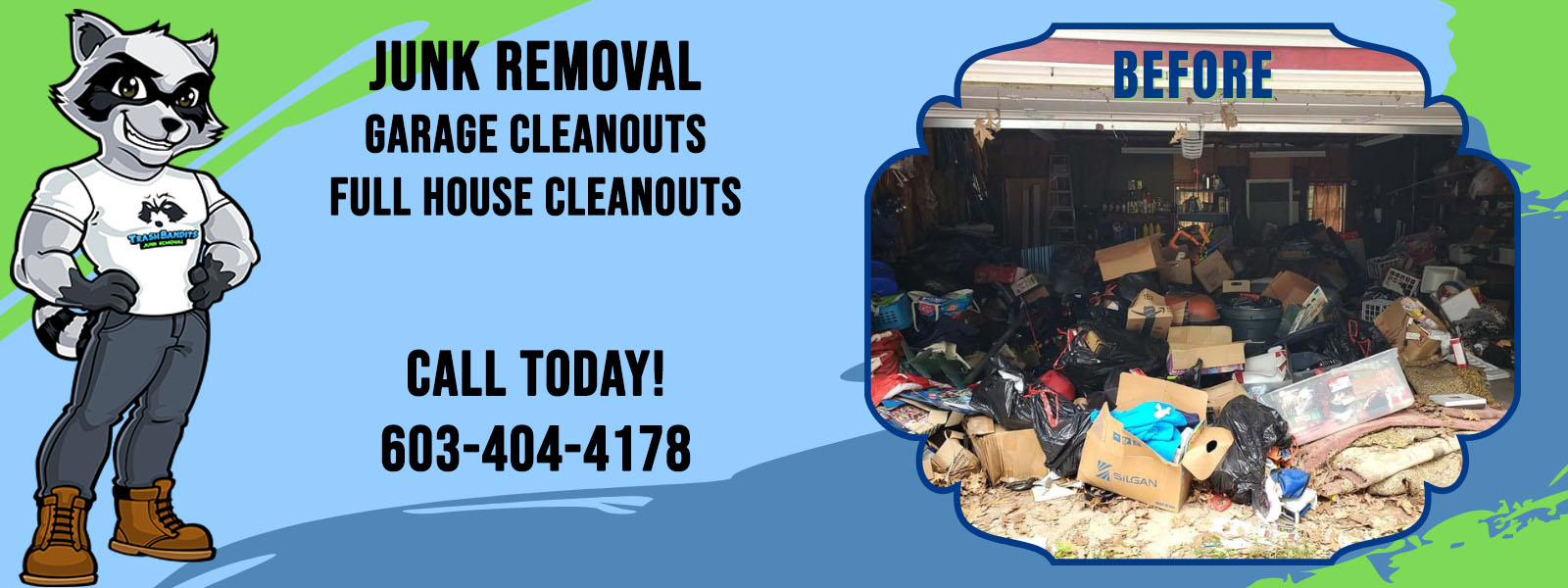 Junk Removal, Garage Cleanouts, Full House Cleanouts