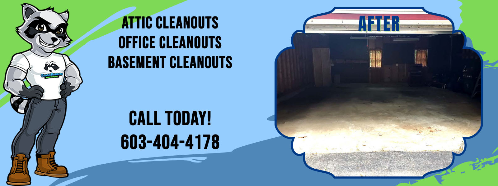 Attic Cleanouts, Office Cleanouts, Basement Cleanouts