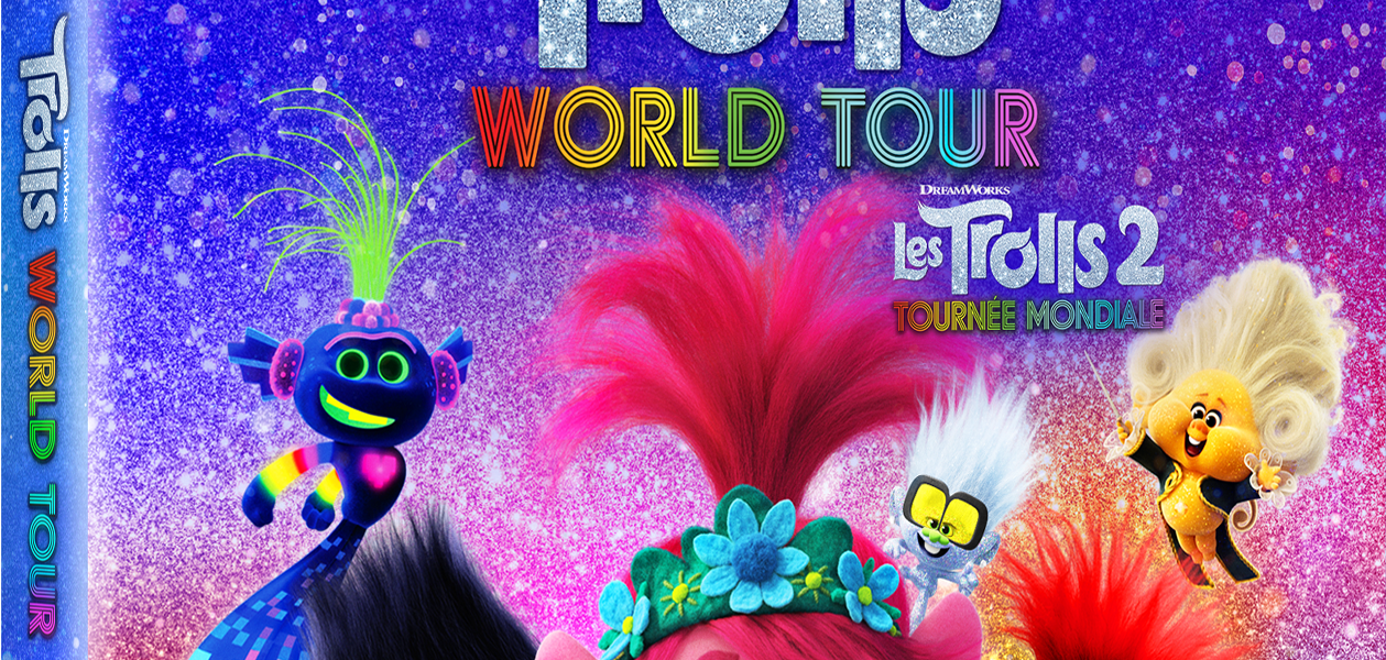 Giveaway : Enter to win TROLLS WORLD TOUR on available on 4K Ultra HD, Blu Ray and DVD July 7