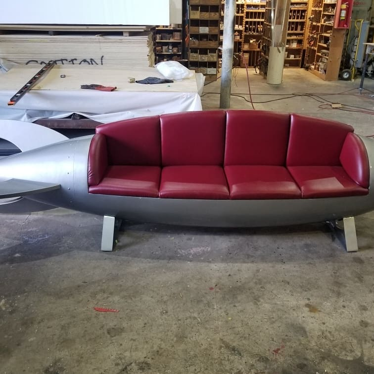 Propmasters Rocket Arena Couch