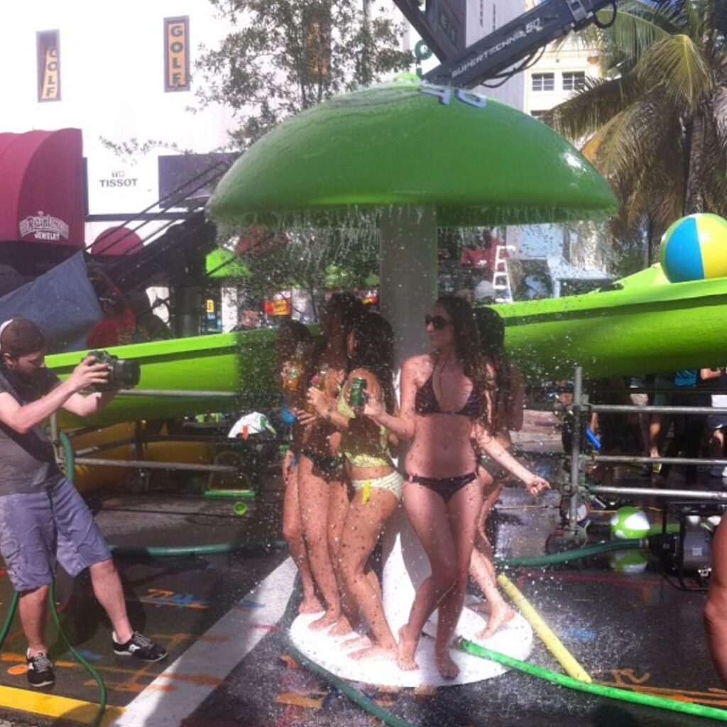 Propmasters 2012 Bud Light Lime Waterslide Commercial 02